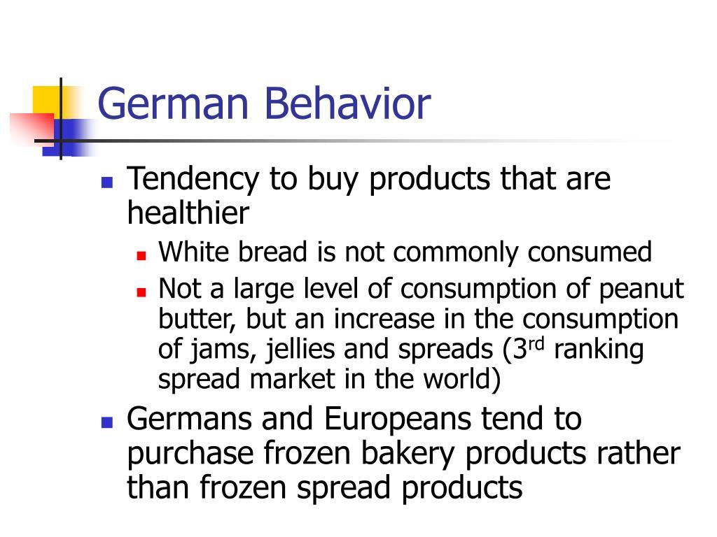 German Behavior