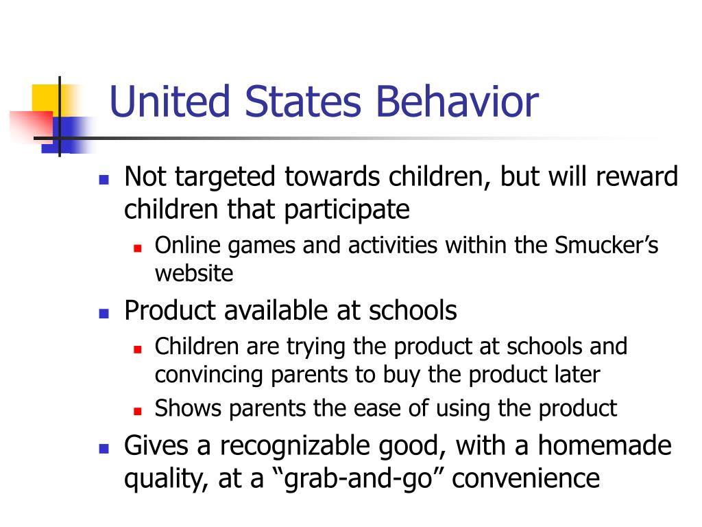 United States Behavior