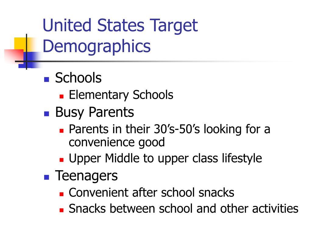 United States Target Demographics