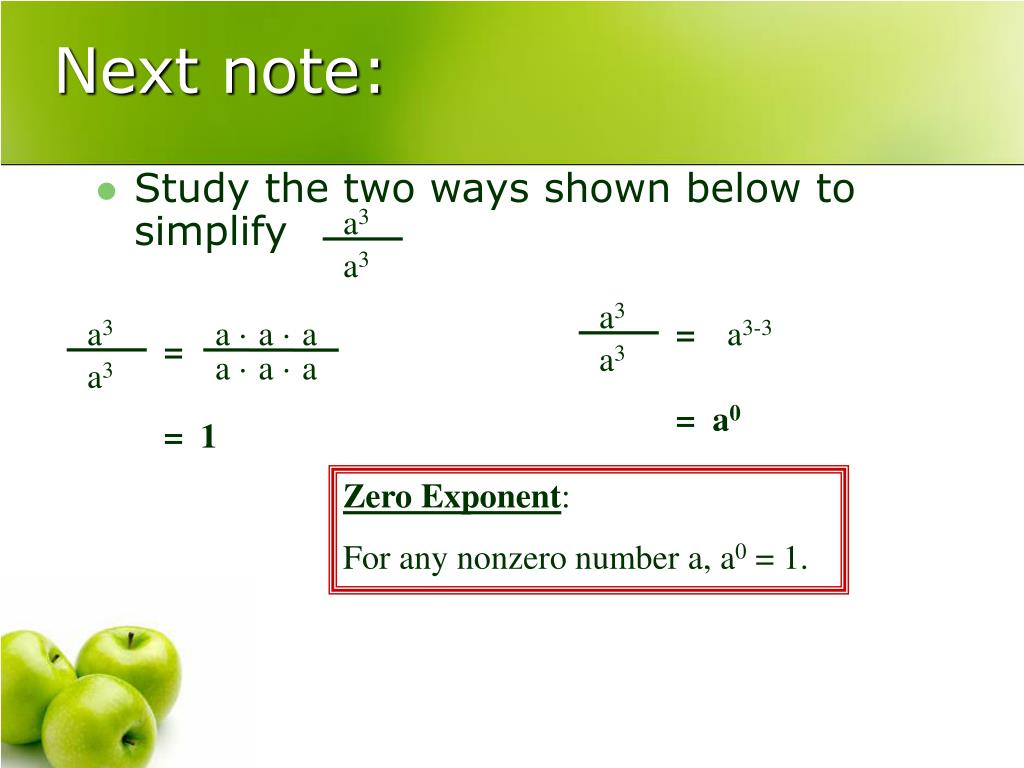 Study the two ways shown below to simplify