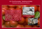 iv 3 food processing handling and safety13