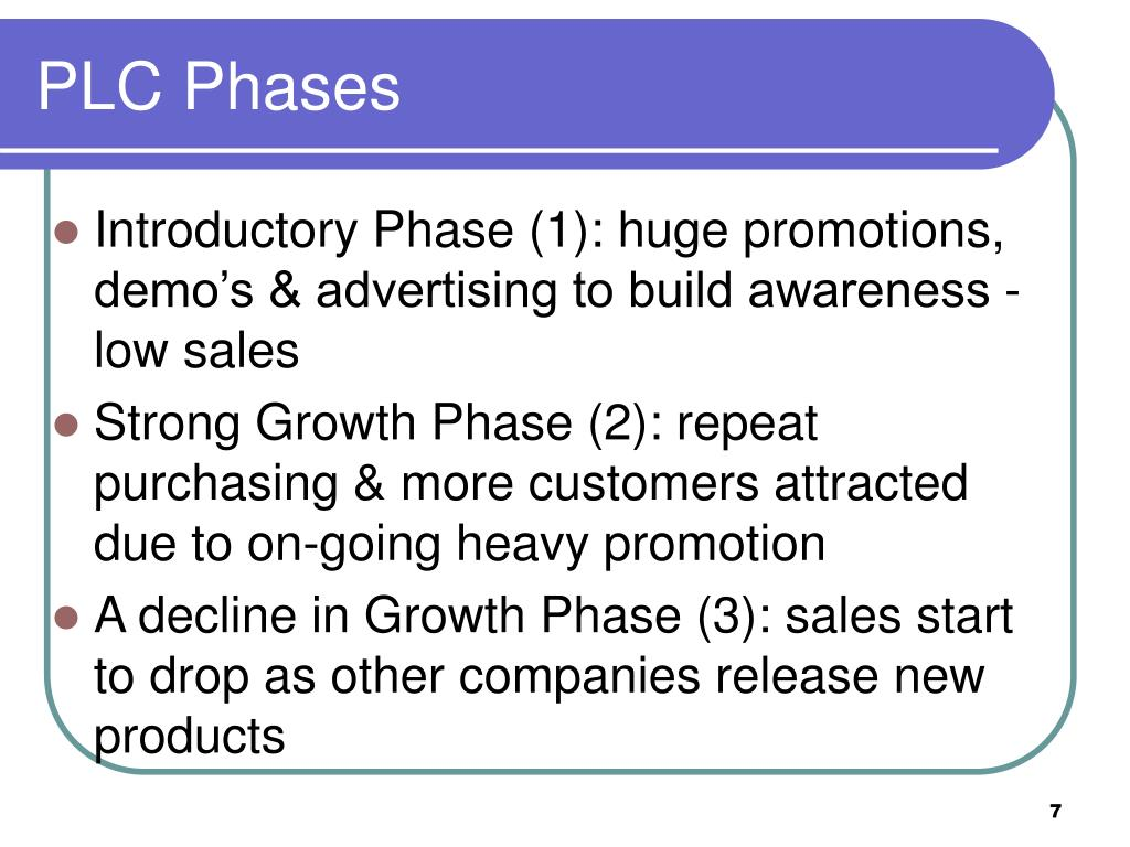PLC Phases