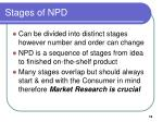 stages of npd