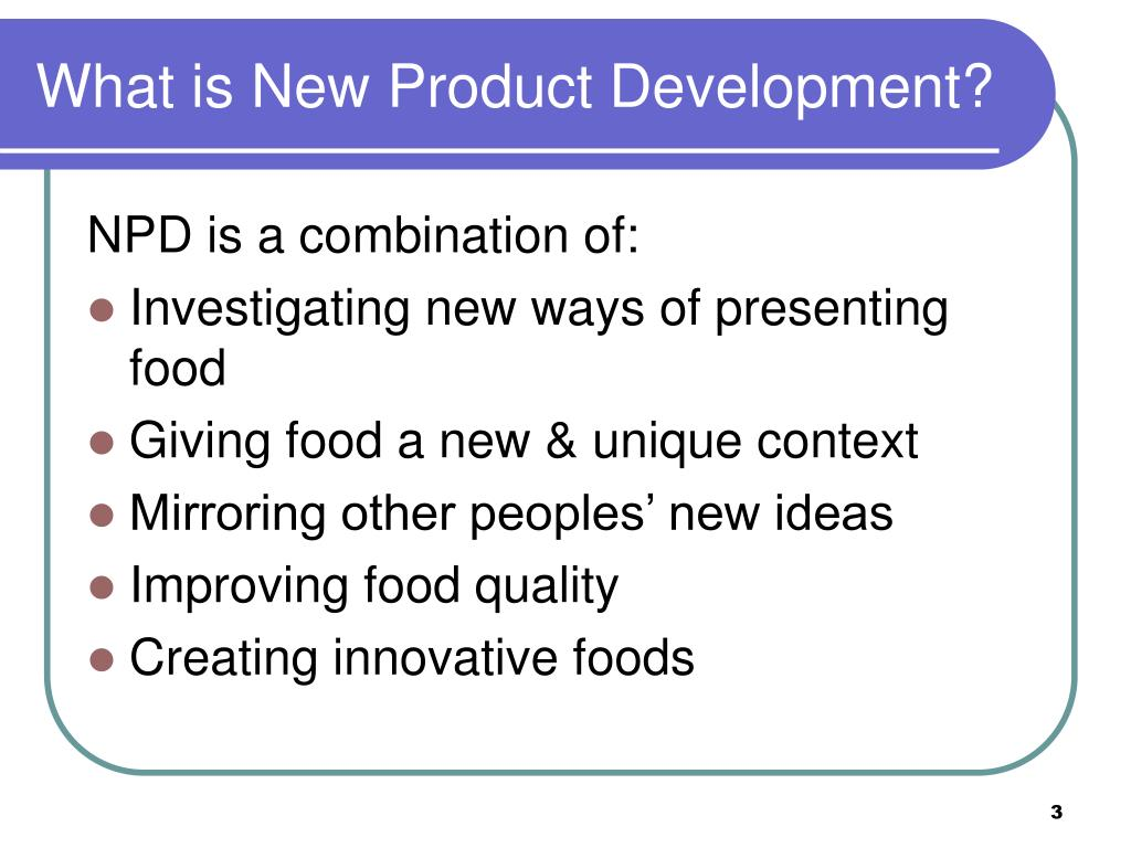 What is New Product Development?