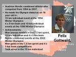 felix gottwald born january 13 1976 austria