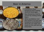 beer in america