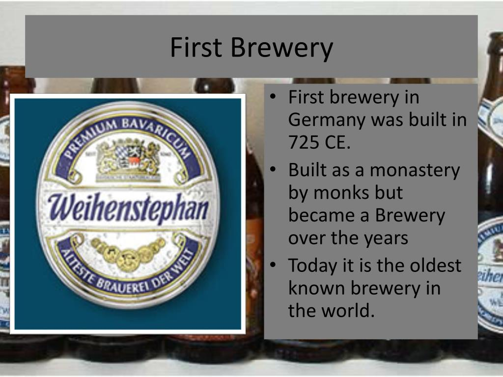 First Brewery