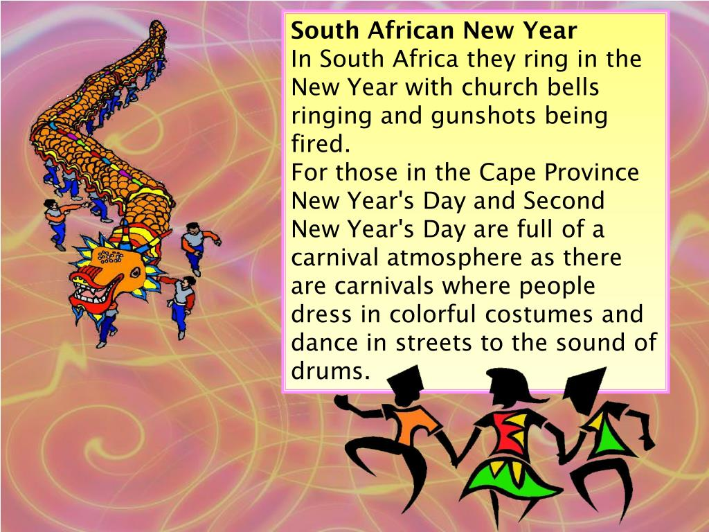 South African New Year