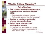 what is critical thinking10