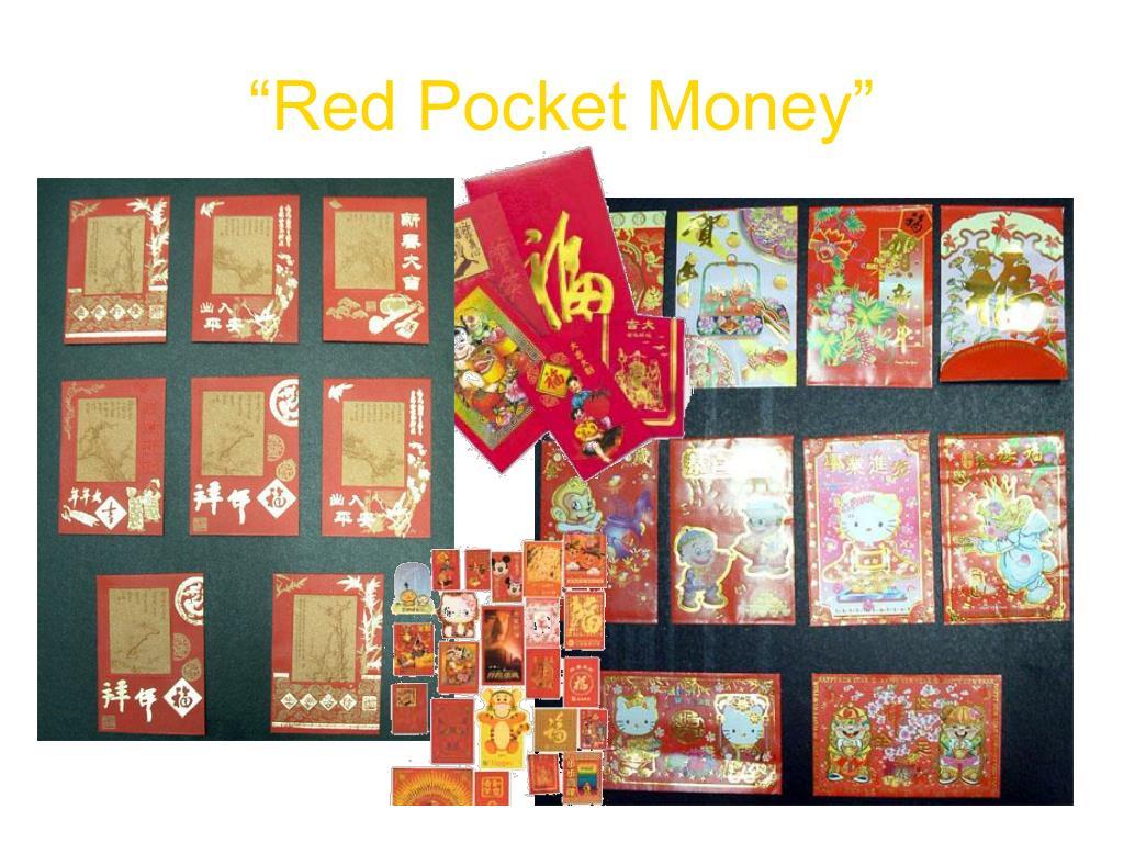 """Red Pocket Money"""