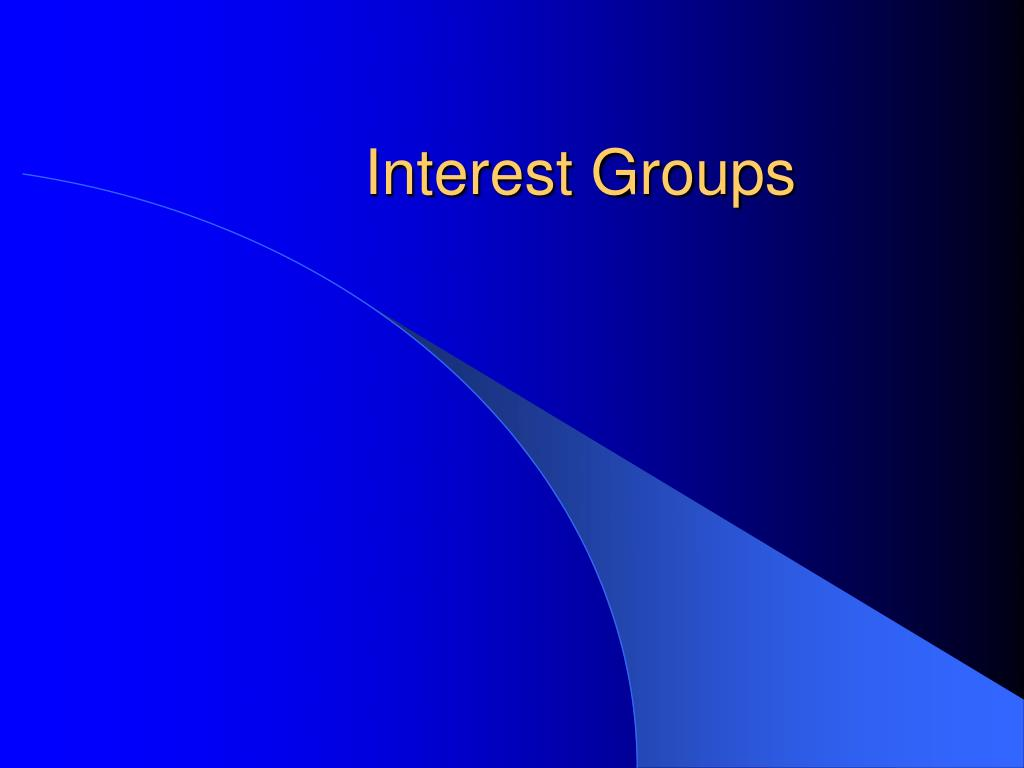 interest groups l.