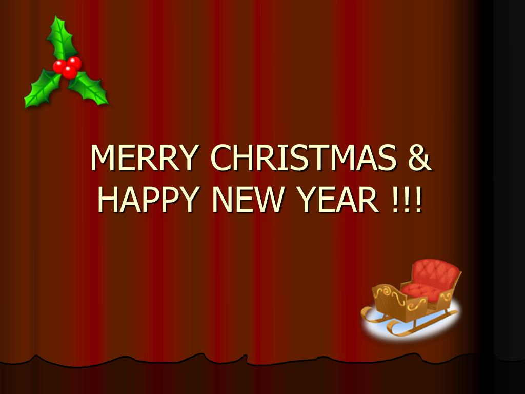 merry christmas happy new year l.