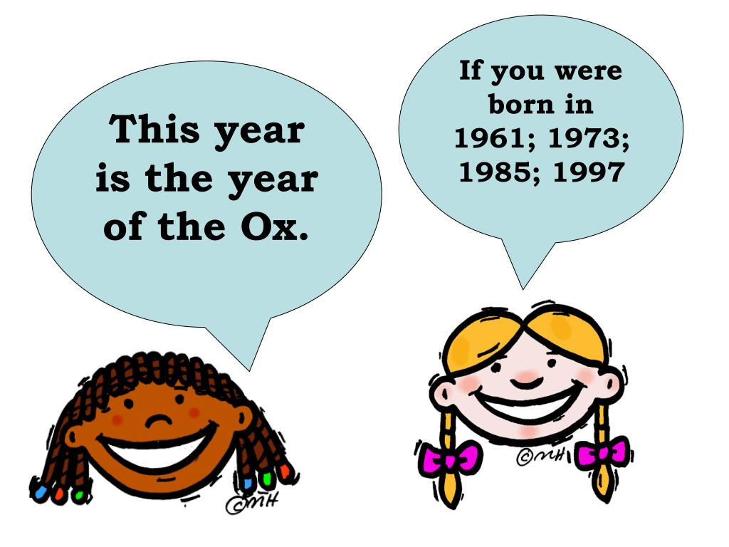 If you were born in 1961; 1973; 1985; 1997