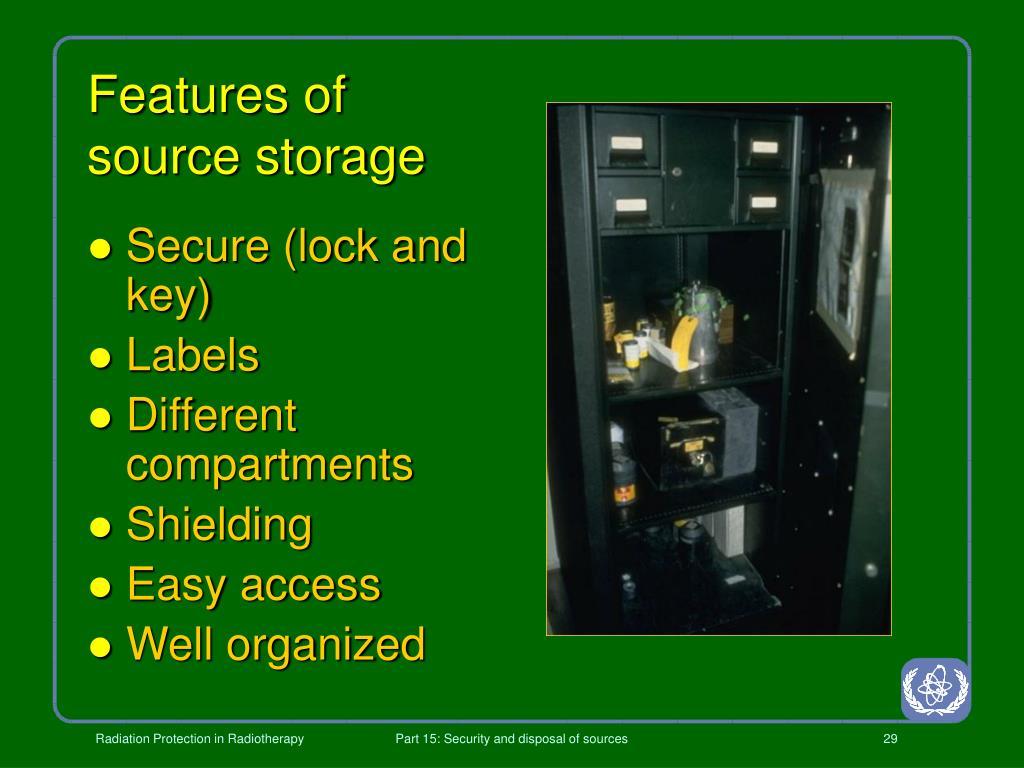 Features of source storage