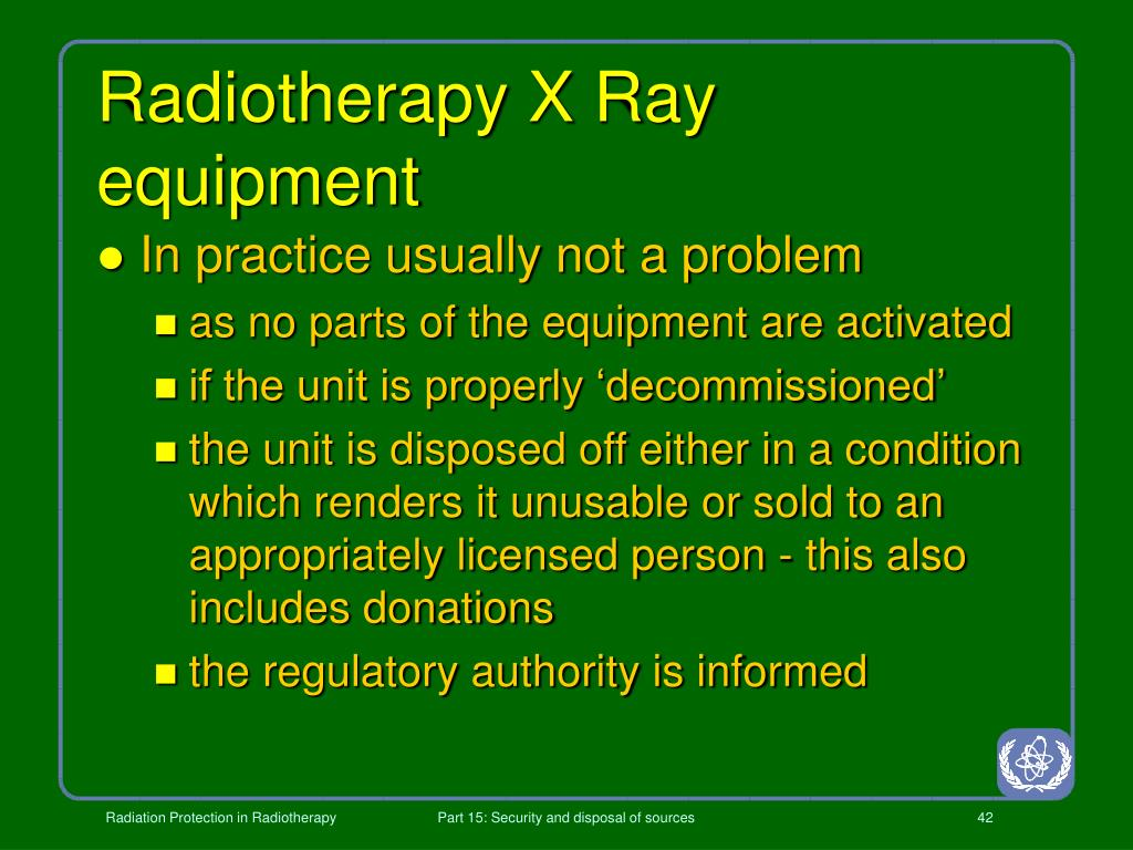 Radiotherapy X Ray equipment