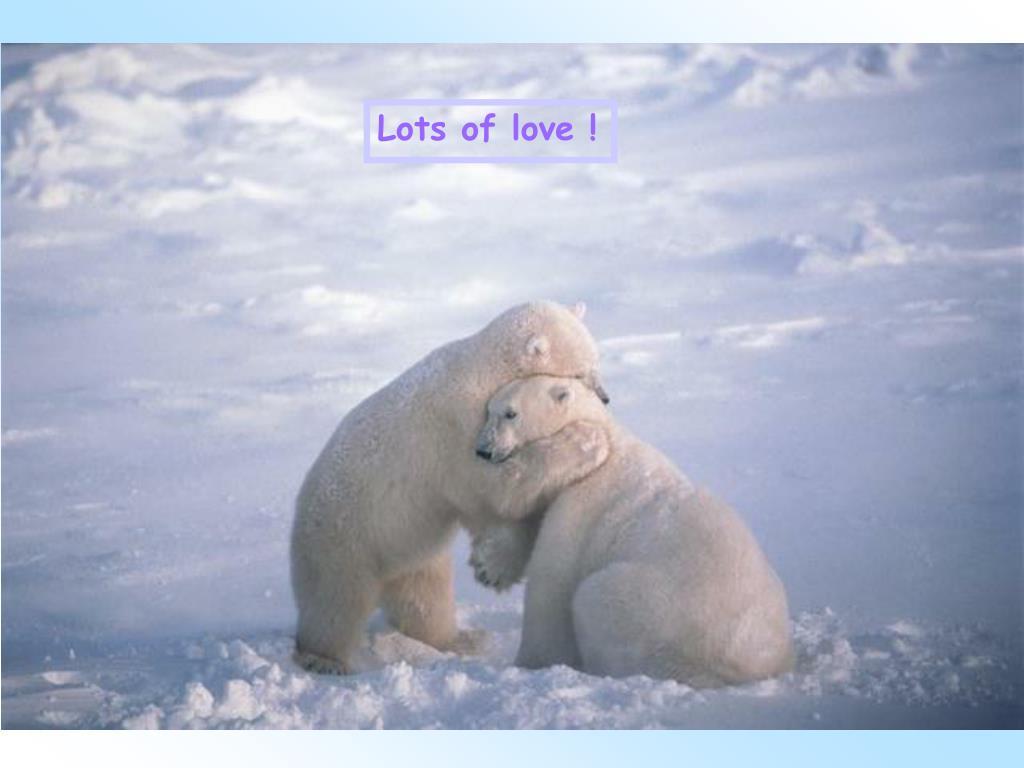 Lots of love !