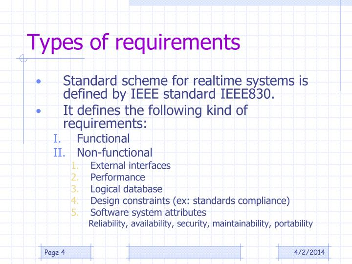 Ppt Software Requirements Engineering For Rts And Embedded Systems Powerpoint Presentation Id 640571