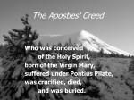 the apostles creed11