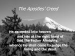 the apostles creed13