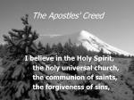the apostles creed14