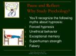 pause and reflect why study psychology42