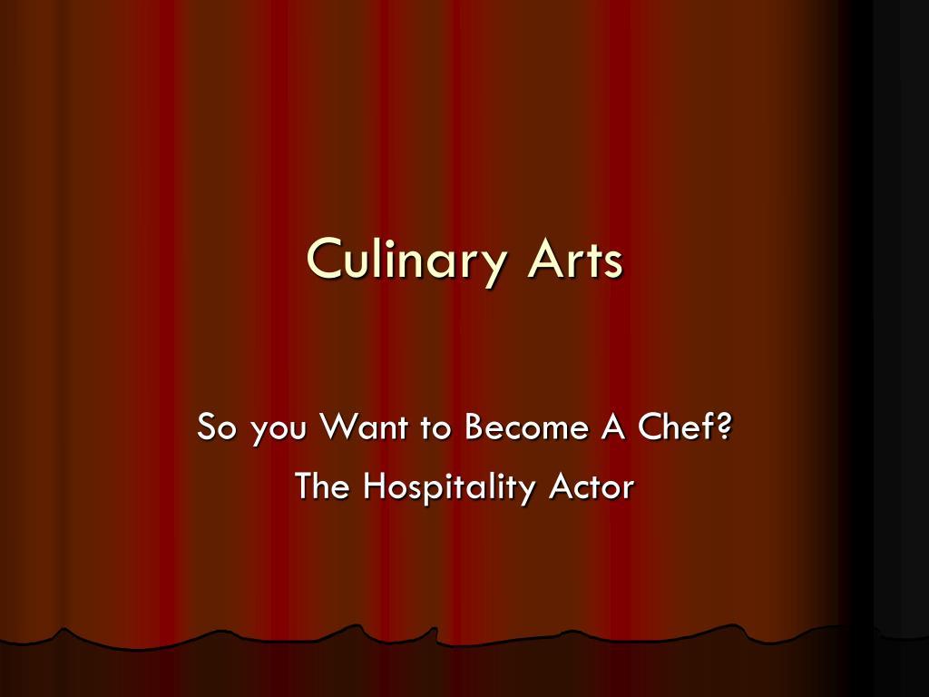 culinary arts l.