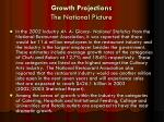 growth projections the national picture