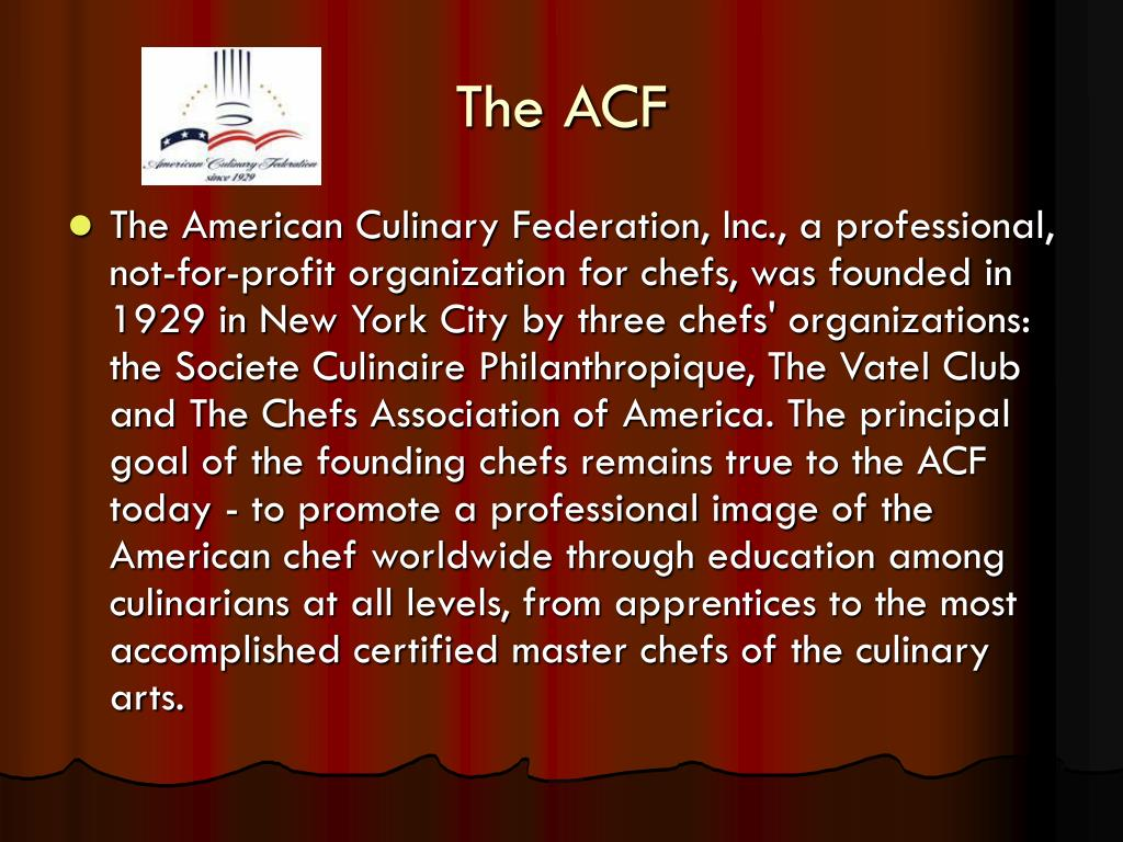 The ACF