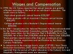 wages and compensation