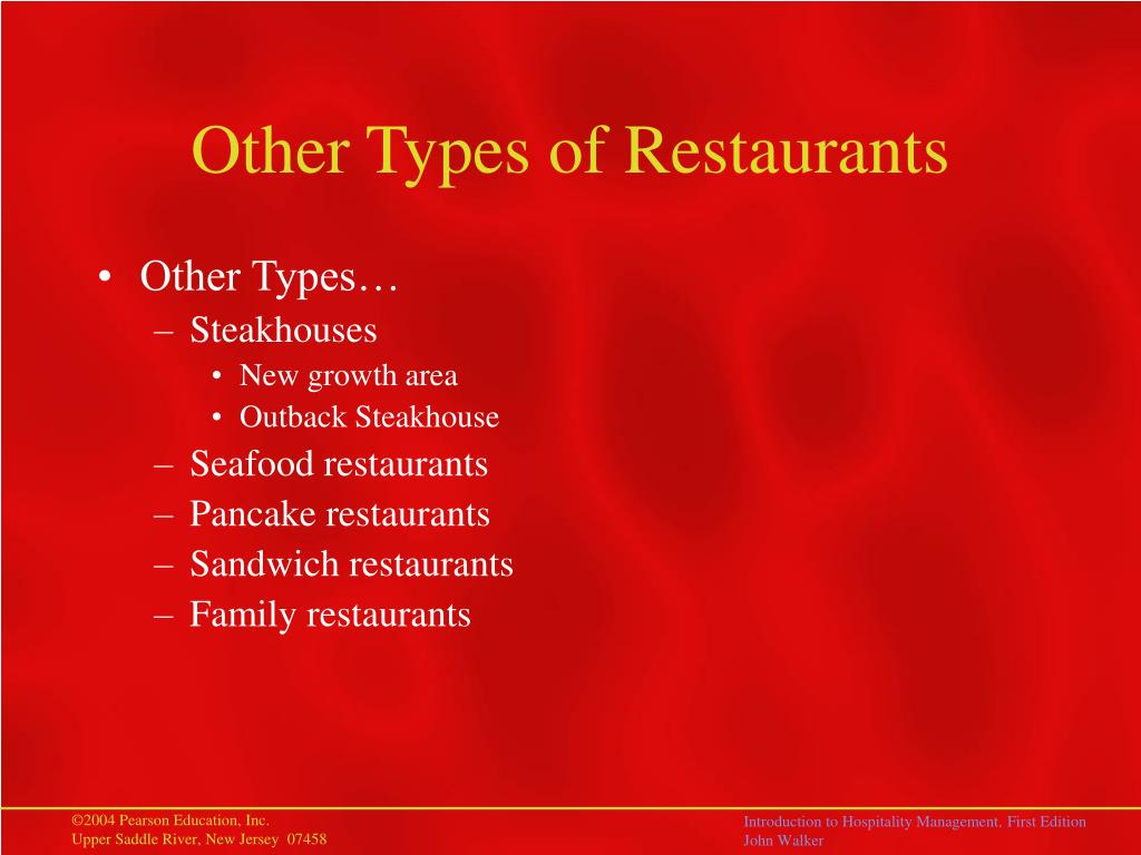 Other Types of Restaurants