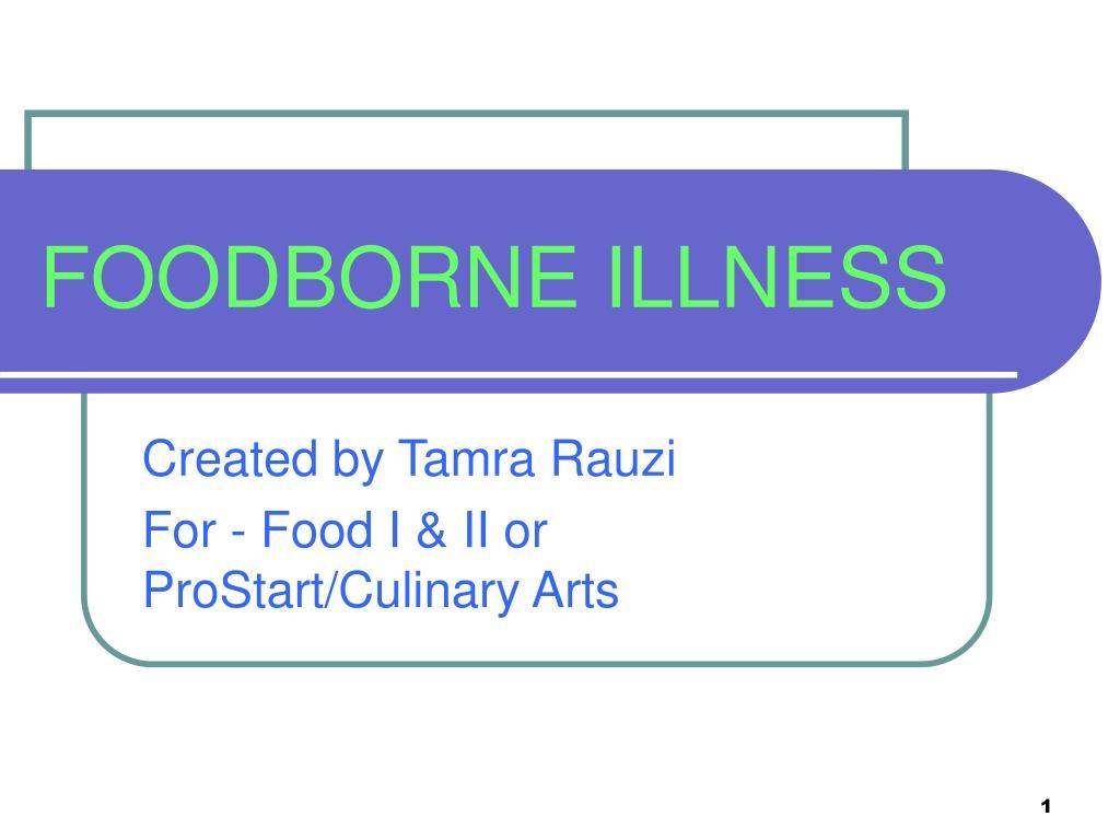 foodborne illness l.