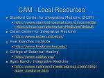 cam local resources