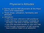 physician s attitudes