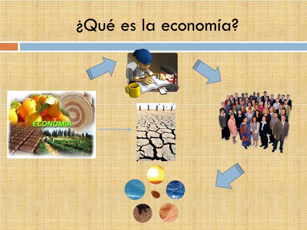 ¿Qué es la economía?