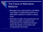 the future of alternative medicine28