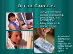office careers
