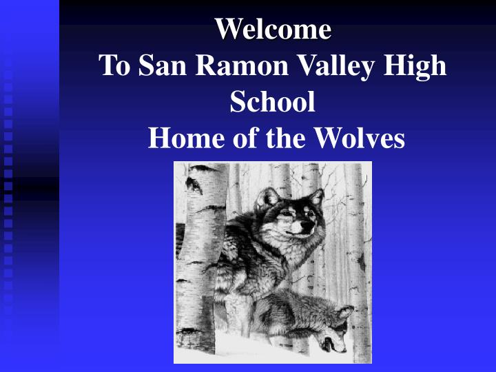 welcome to san ramon valley high school home of the wolves n.