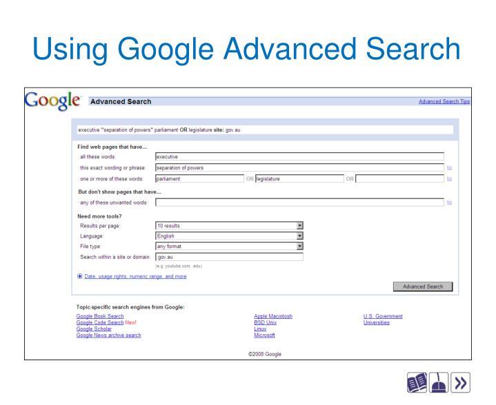 Advanced Search - Google Search Help