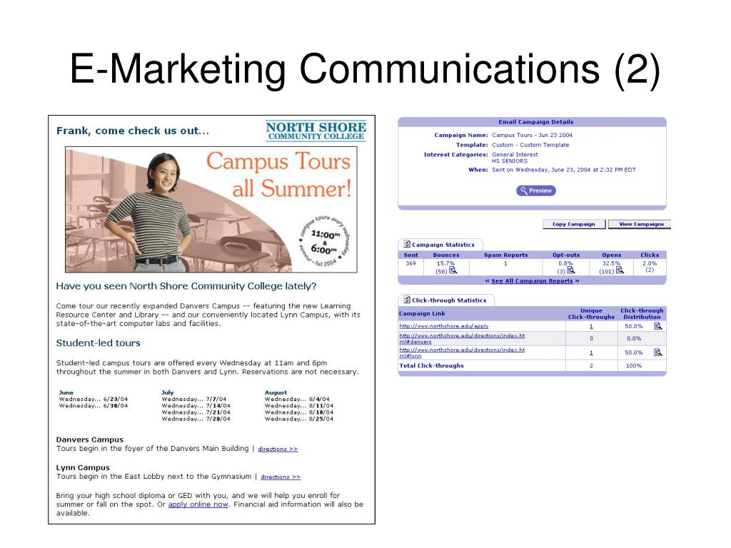 E-Marketing Communications (2)