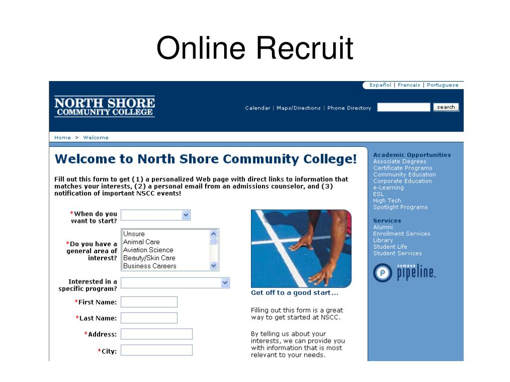 Online Recruit