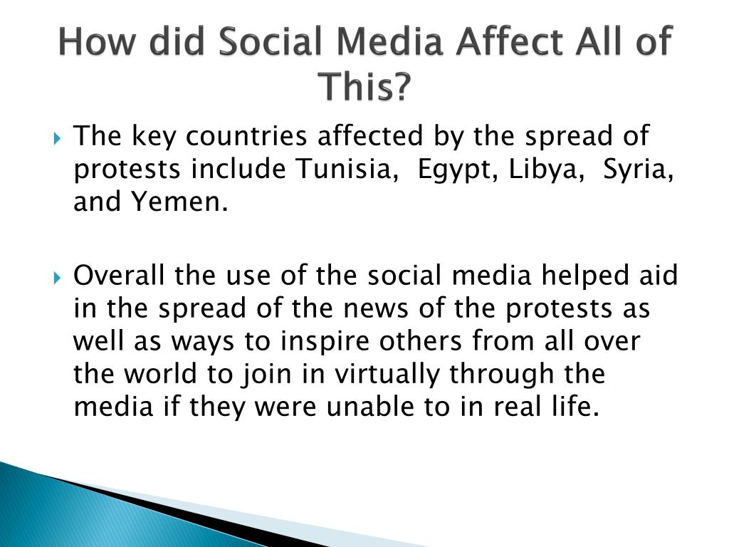 How did Social Media Affect All of This?