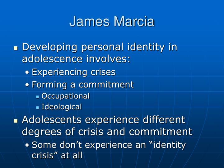 identity in adolescence marcia