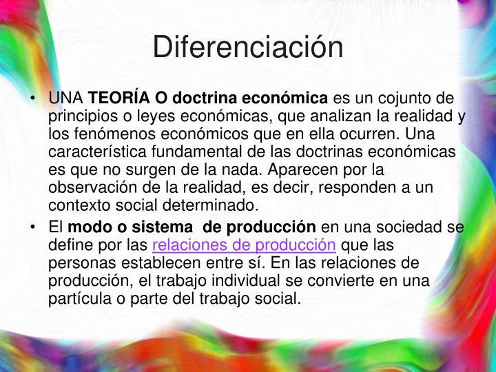 Diferenciaci n