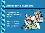 integrative medicine23