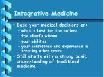 integrative medicine69