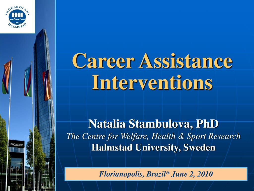 career assistance interventions l.