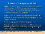 lifestyle management lsm
