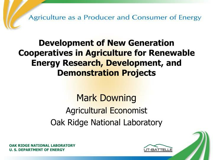 a nexus of interrelationships between agricultural cooperatives in america The energywaterfoodnexus is a new science enterprise launched at florida agricultural and mechanical  it is also a rural america  of interrelationships.