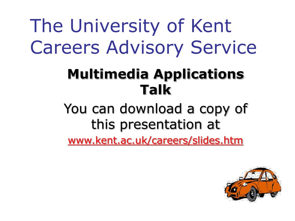 the university of kent careers advisory service l.