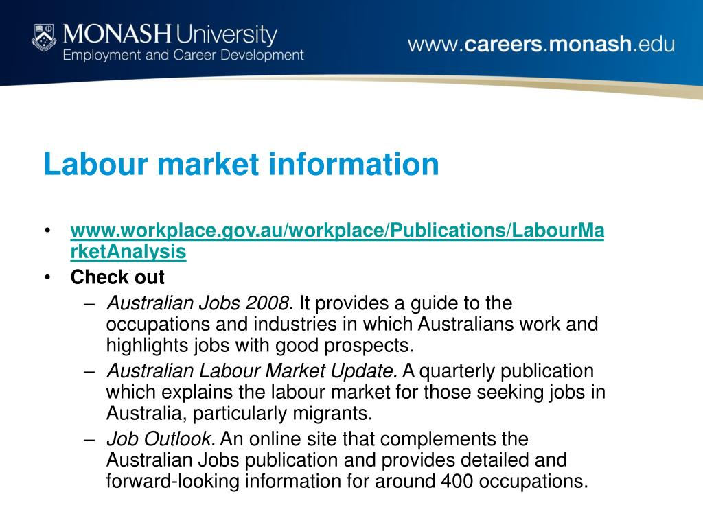 Labour market information